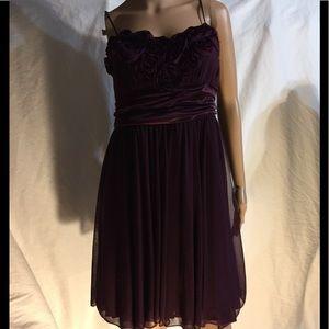 STUDIO Y  Maroon dressy dress XL